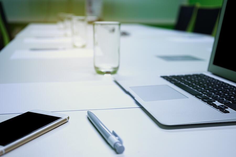Conference room availability in co-working spaces | 580 Executive Center